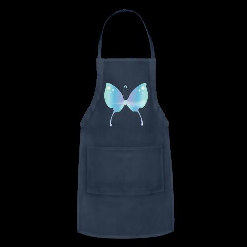 Blue Magik Butterfly - Adjustable Apron