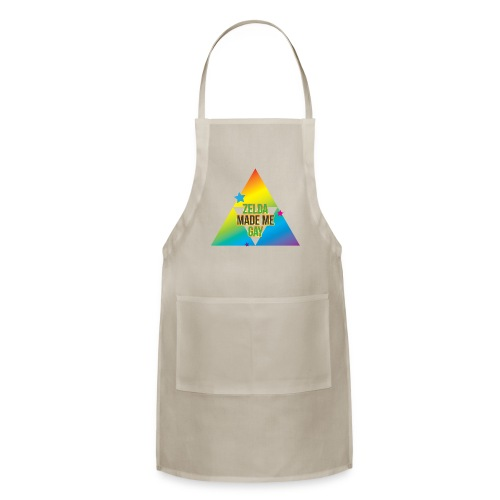 Zelda Made Me Gay - Adjustable Apron