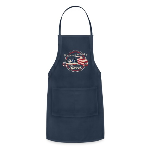 Life, Liberty and the Pursuit of Speed USA Hot Rod - Adjustable Apron