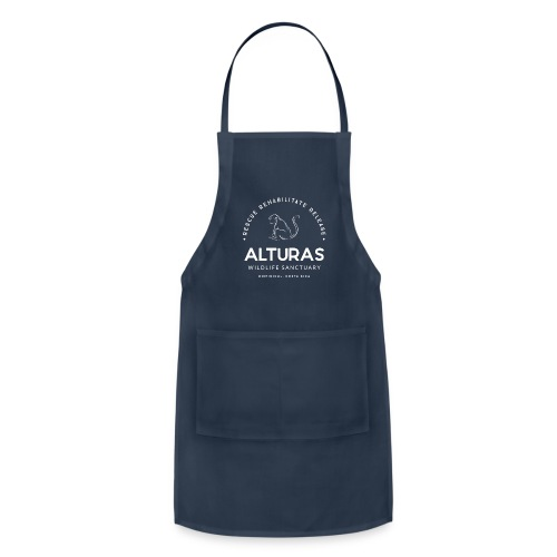 Full Alturas Wildlife Sanctuary Logo - Adjustable Apron
