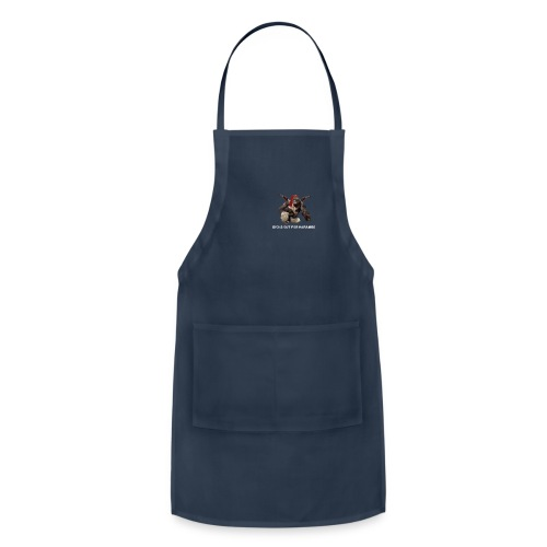 dicks out for harambe - Adjustable Apron