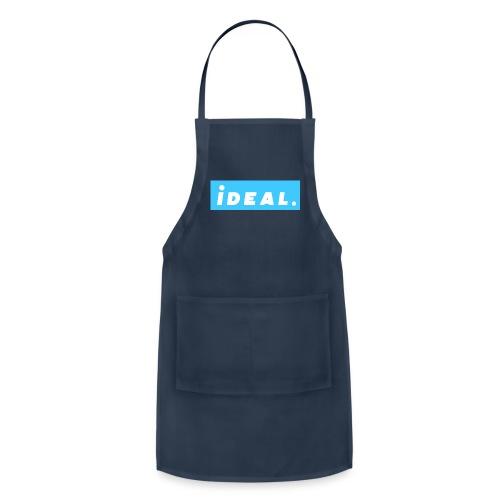 rare ideal blue logo - Adjustable Apron