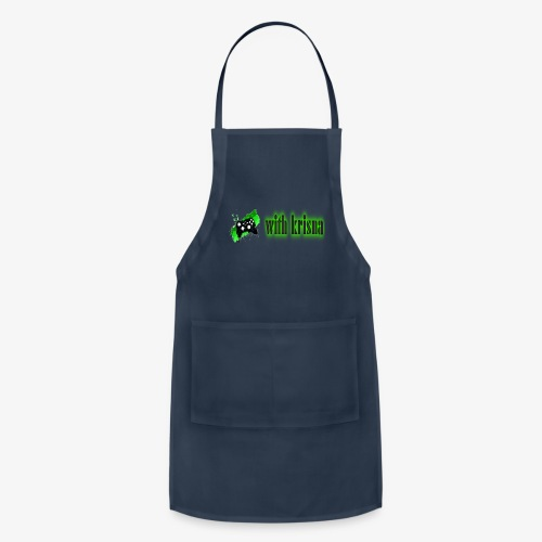 gaming with krisna merch - Adjustable Apron