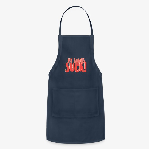 My Songs Suck Logo - Adjustable Apron