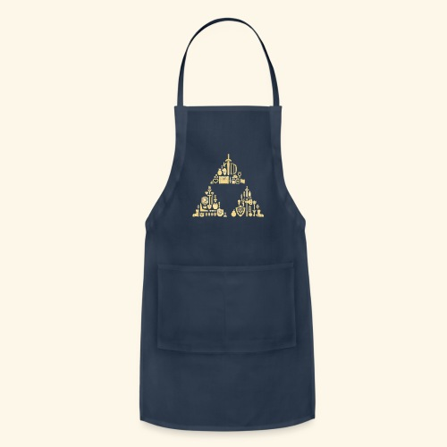 Zelda Triforce - Adjustable Apron
