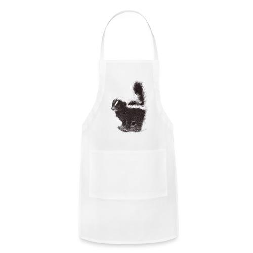 Cool cute funny Skunk - Adjustable Apron