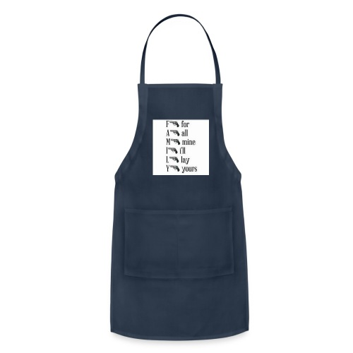 Family is important - Adjustable Apron