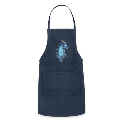 STUCK Blue Dragon (front) - Adjustable Apron