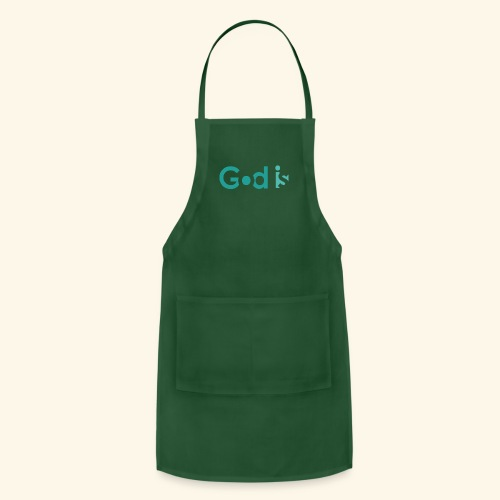 GOD IS #4 - Adjustable Apron