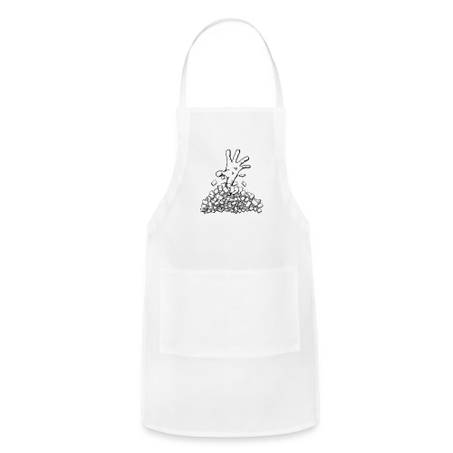 Buried by your backlog - Adjustable Apron