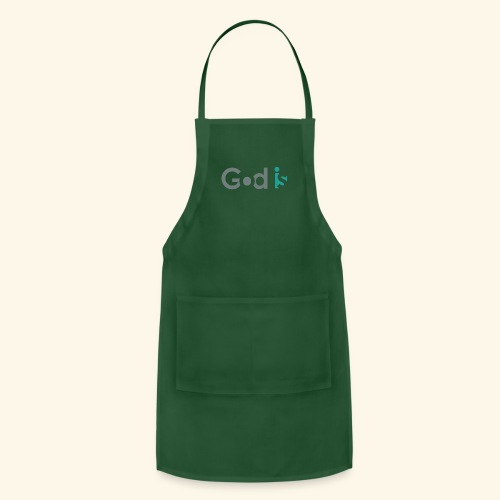 GOD IS #3 - Adjustable Apron