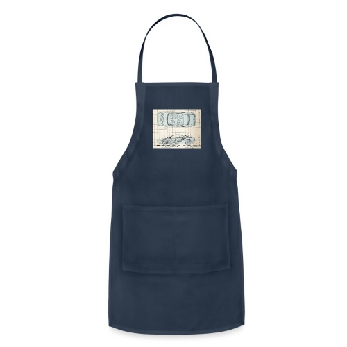drawings - Adjustable Apron