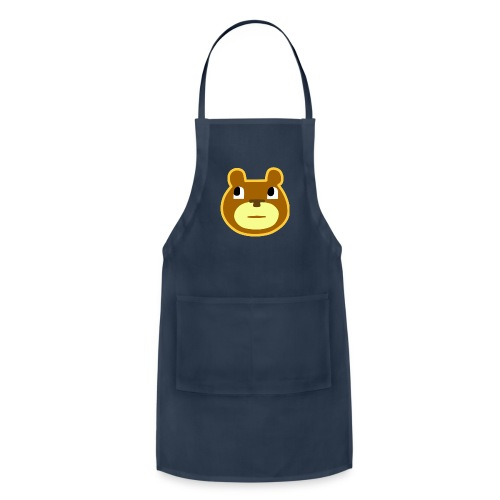 sarcasm bear no text - Adjustable Apron