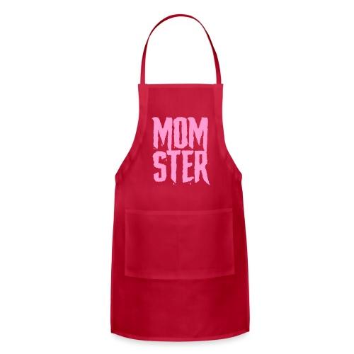 mother mom monster - Adjustable Apron