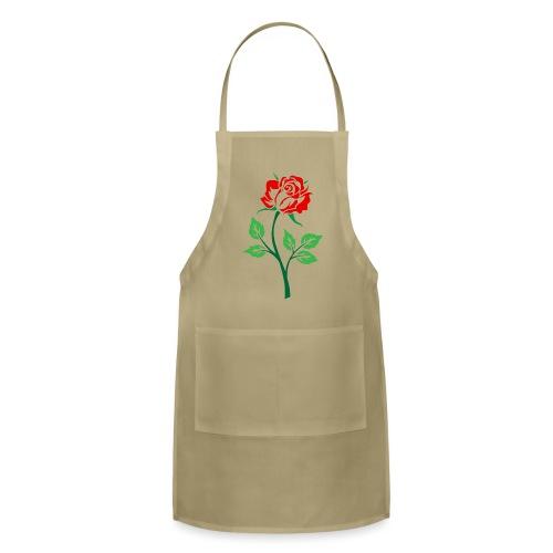 Red Rose - Adjustable Apron