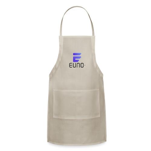 EUNO LOGO POTRAIT BLACK FONT - Adjustable Apron