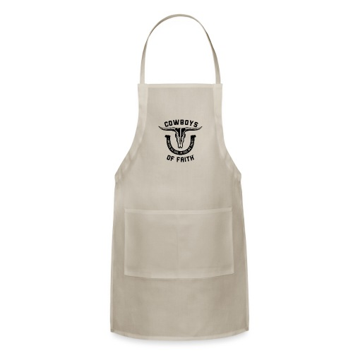 Cowboys of Faith - Adjustable Apron