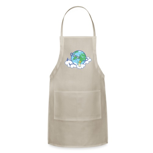 Mischievous Earth taking a well deserved break - Adjustable Apron