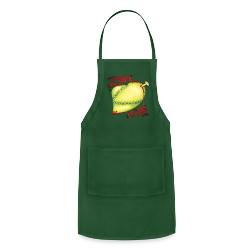 Zombie Love T Shirt - Adjustable Apron