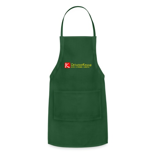 ChineseKuang Logo - Yellow - Adjustable Apron