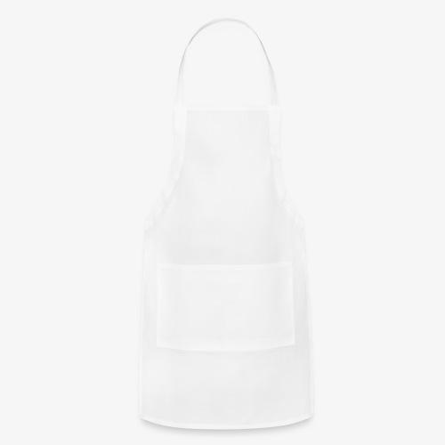 white leaf - Adjustable Apron