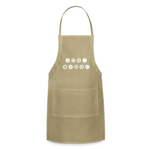Axis & Allies Country Symbols - One Color - Adjustable Apron