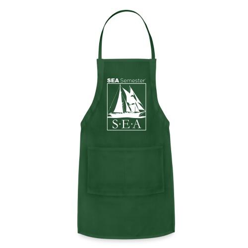 SEA_logo_WHITE_eps - Adjustable Apron