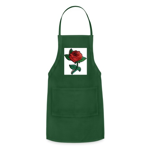 t-shirt roses clothing🌷 - Adjustable Apron