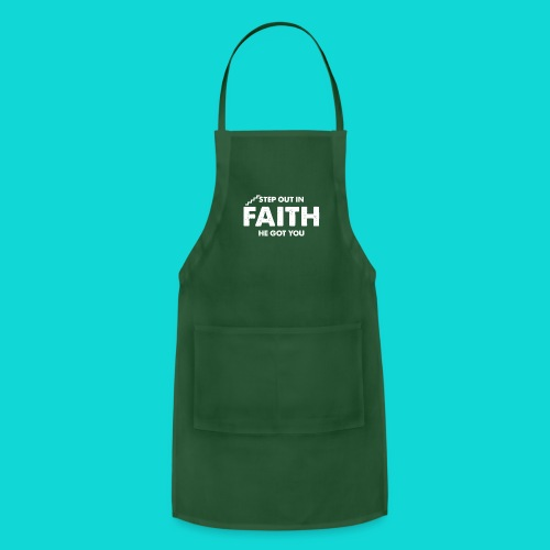 Step Out In Faith - Adjustable Apron