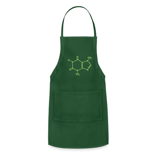 Chocolate (Theobromine) Molecule - Adjustable Apron