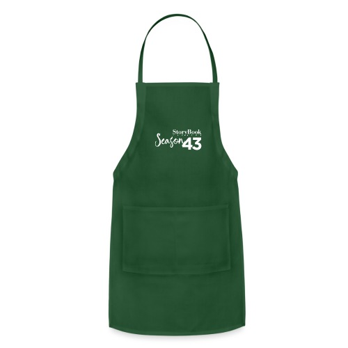 SBT43 Season43 LOGO WHT - Adjustable Apron