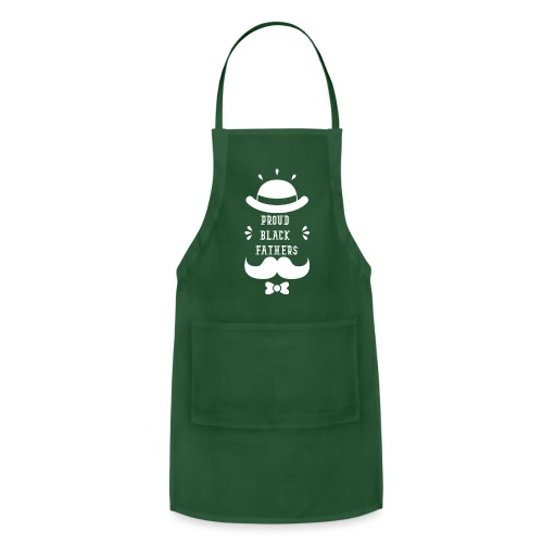 Black Father Definition Fathers Day Gift - Adjustable Apron