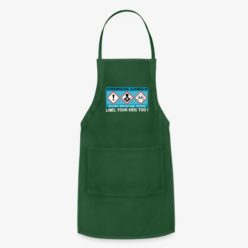 LABEL YOUR KIDS TOO ! - Adjustable Apron