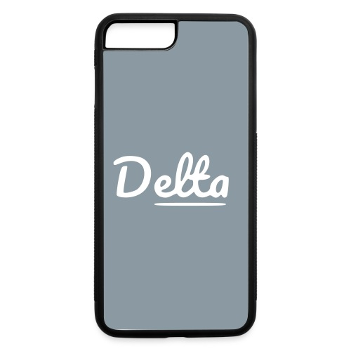 DeltaSilverPhoneCases - iPhone 7 Plus/8 Plus Rubber Case