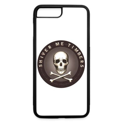 Shiver Me Timbers - iPhone 7 Plus/8 Plus Rubber Case