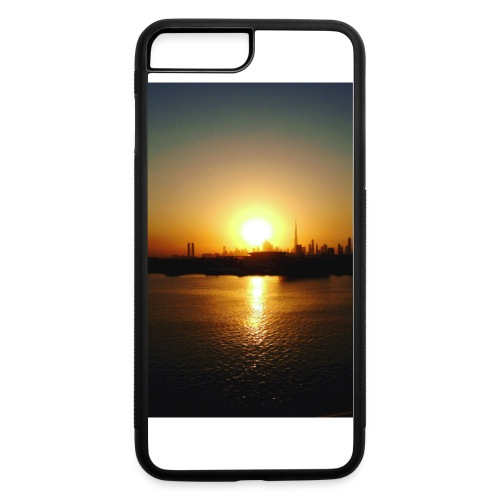 an i phone cover that has a picture of a sun set . - iPhone 7 Plus/8 Plus Rubber Case