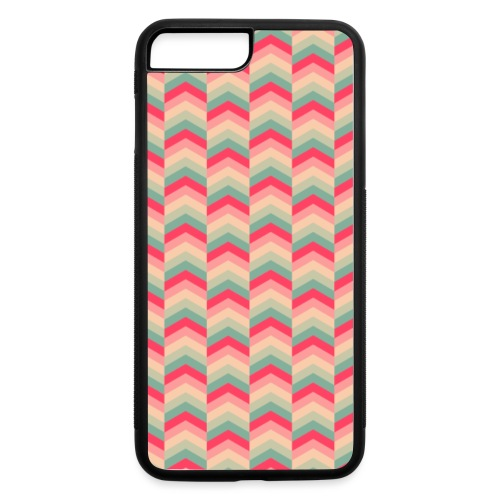 Colorful Arrow Pattern Case - iPhone 7 Plus/8 Plus Rubber Case