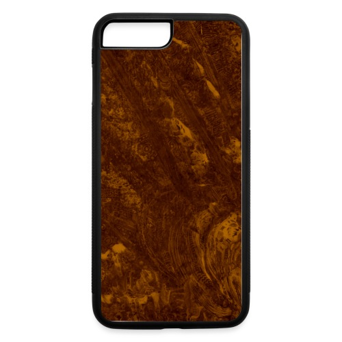Oil spill (yellow) - iPhone 7 Plus/8 Plus Rubber Case