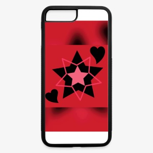 Heart & Star - iPhone 7 Plus/8 Plus Rubber Case