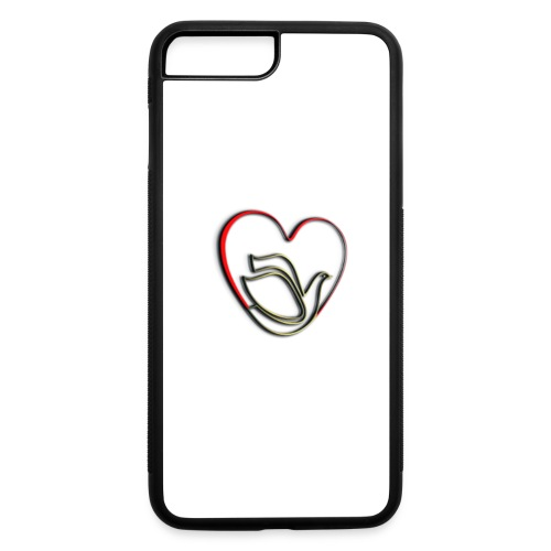 Love and Pureness of a Dove - iPhone 7 Plus/8 Plus Rubber Case