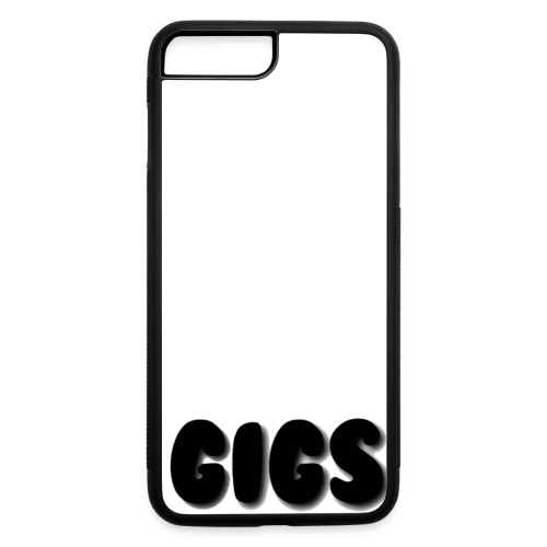 Gigs Black Collection - iPhone 7 Plus/8 Plus Rubber Case