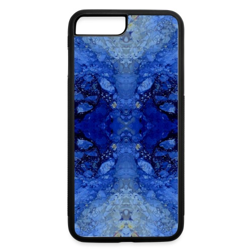 Mobile Case with infinity background - iPhone 7 Plus/8 Plus Rubber Case
