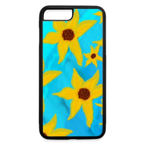 Funky Sunflowers - iPhone 7 Plus/8 Plus Rubber Case