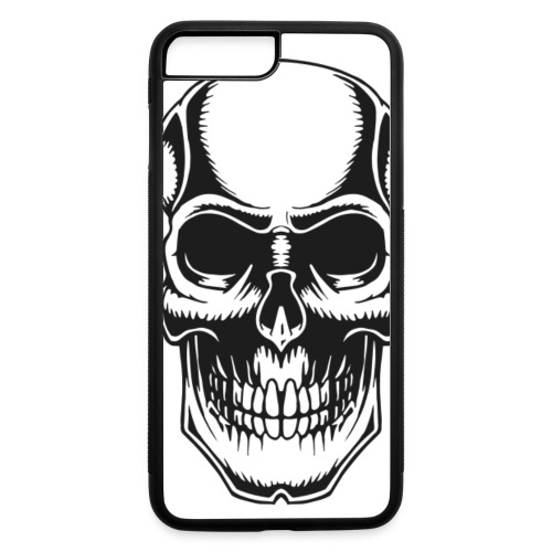 Skull Vintage Tattoo - iPhone 7 Plus/8 Plus Rubber Case