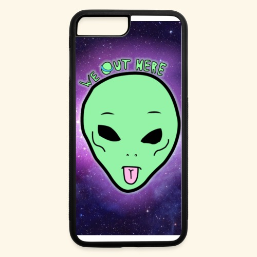 alien - iPhone 7 Plus/8 Plus Rubber Case