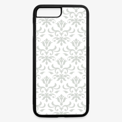Ornate Pattern 01 Silver - iPhone 7 Plus/8 Plus Rubber Case