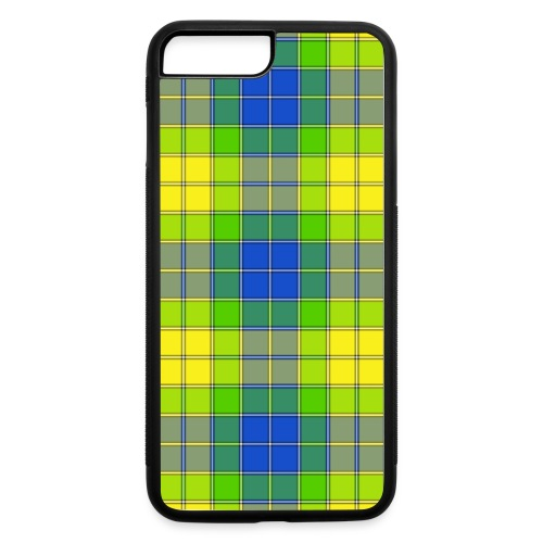 Yellow plaid - iPhone 7 Plus/8 Plus Rubber Case