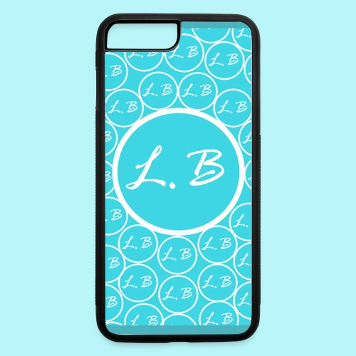 Lawrence Bing LOGO - iPhone 7 Plus/8 Plus Rubber Case