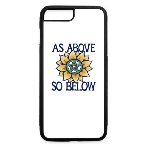as above so below - iPhone 7 Plus/8 Plus Rubber Case