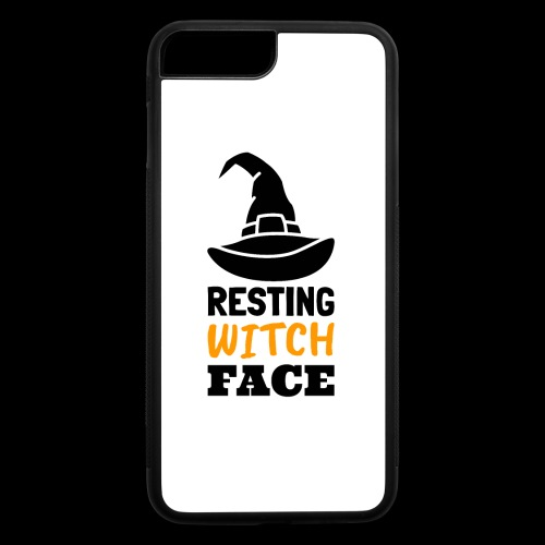 Resting Witch Face | Funny Halloween - iPhone 7 Plus/8 Plus Rubber Case